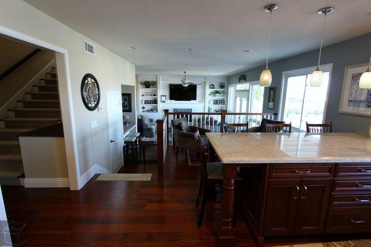 Viejo Orange County Kitchen Living room Fireplace entertainment center