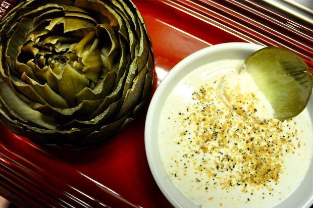 Artichoke with Lemon Pepper Dip | Paleo | Pinterest