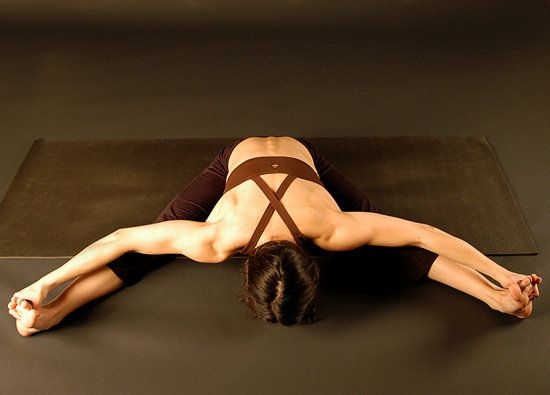 8 stretches to do the splits-goal by end of year.