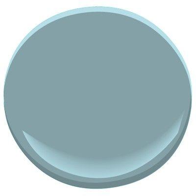 Gym wall home ideas i love pinterest - Jamestown blue paint color ...
