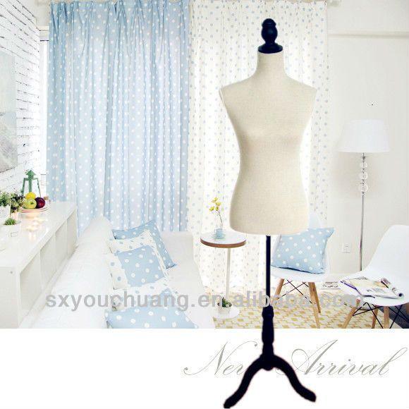 Clothing store mannequins female bust model linen cotton cloth display hanger models Women