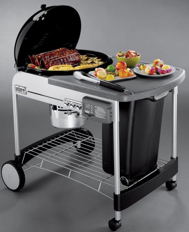weber performer platinum charcoal grill for the home. Black Bedroom Furniture Sets. Home Design Ideas
