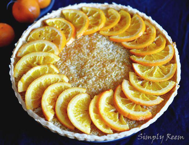 Orange Tart | Baked Delights | Pinterest