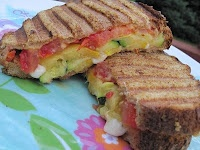 Grilled Zucchini sandwiches Grilled yellow squash Grilled zucchini ...