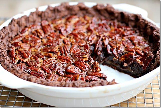 Chocolate Pecan Pie   Baking   Pinterest