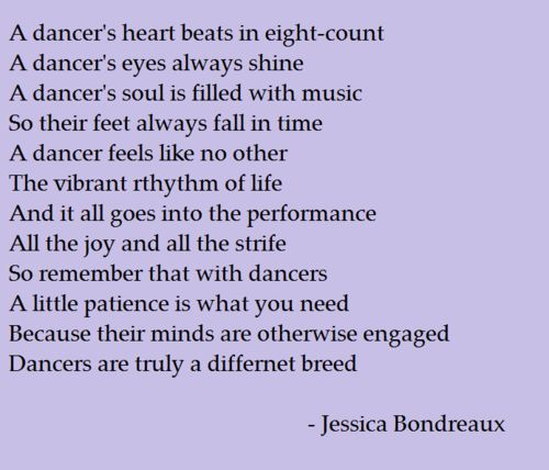 dancers are truly a different breed (: oh yes we are <3