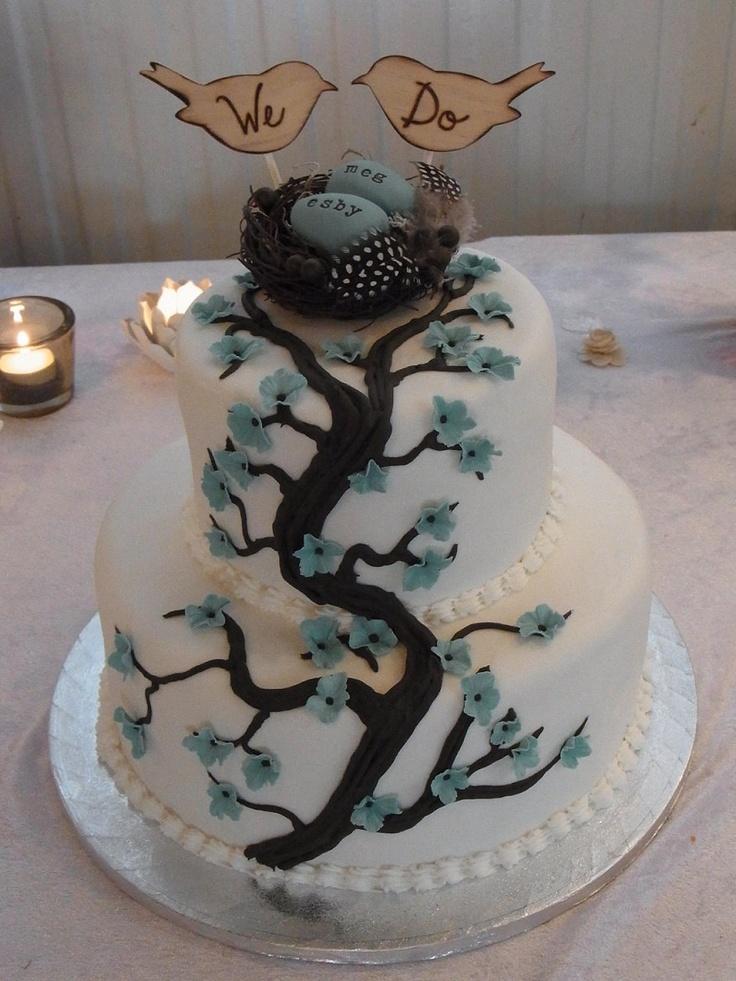 Wedding Cake Topper Love Birds