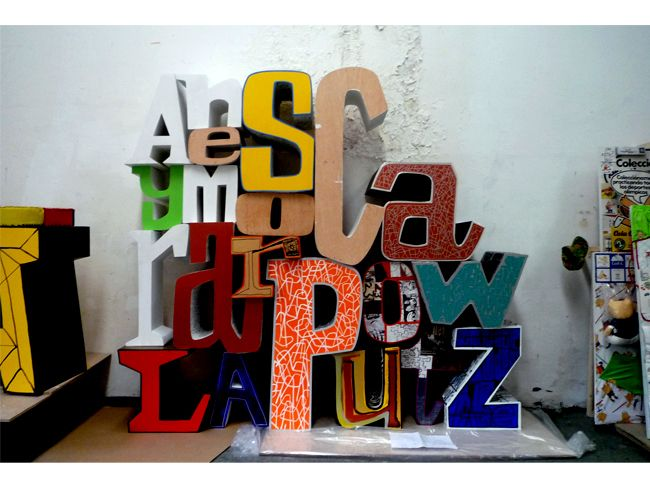 Javier mariscal type o 39 graphic pinterest for Mariscal javier