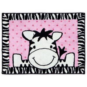 Baby Boom Rug, I Luv Zebra
