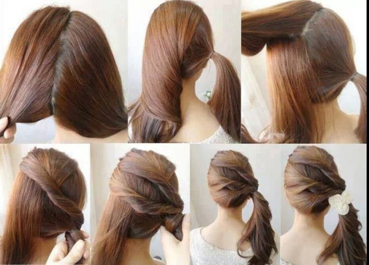 Awesome Twist Braid HairStyles Twist Side Ponytail So Unique