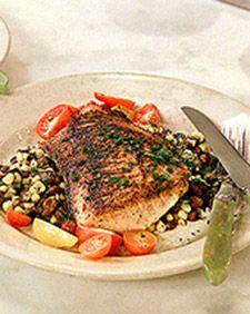 Spice-Rubbed Salmon   Recipe