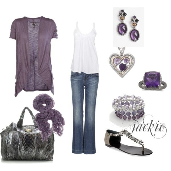 Love this shade of purple!