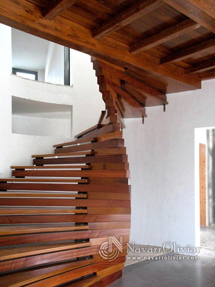 Escalera en espiral de dise o - Disenos de escaleras para casas ...