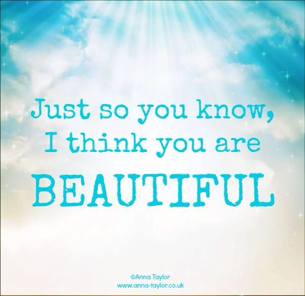 I Think Youre Beautiful Quotes. QuotesGram