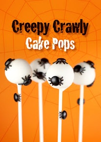 Creepy Crawly Cake Pops | Cakes and cup cakes,cake pops | Pinterest