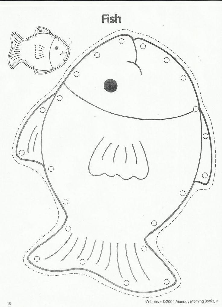 Squish preschool ideas fish storytime crafts aquarium for Squish the fish