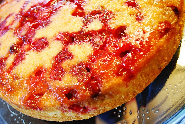 Cranberry Upside Down Cake | Food and Drink | Pinterest