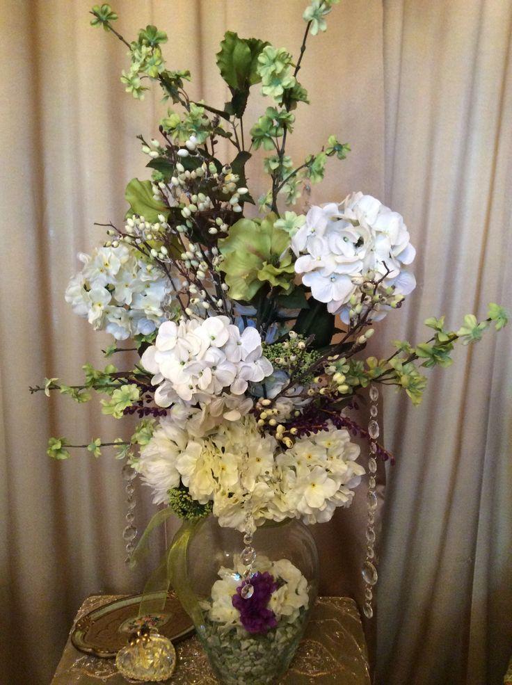Tall Flower Arrangement Diy Pinterest