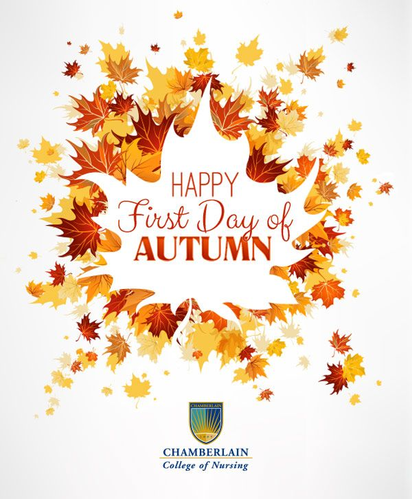 Happy First Day of Autumn!  We Love Nurses!  Pinterest