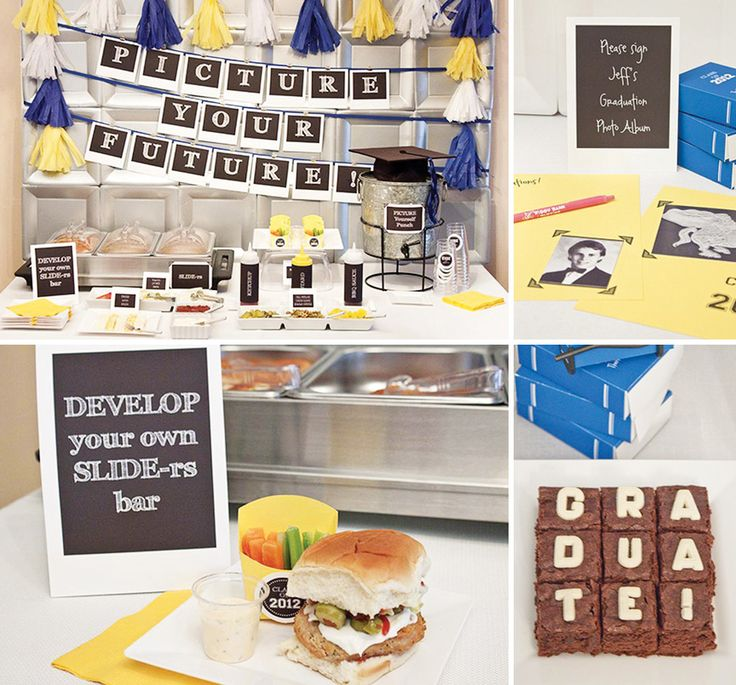 """Picture Your Future"" Graduation Party Ideas check the link!!! AWASOME"