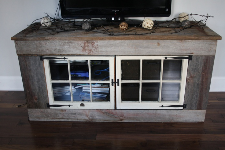 Reclaimed wood tv stand wood furniture ideas pinterest - Reclaimed wood tv stand ideas ...