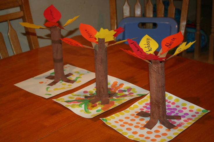 Paper Towel Roll Crafts Thanksgiving