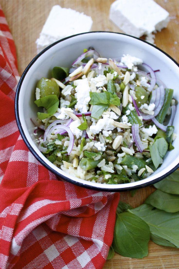 Herbed Rice & French Lentil Salad | good eats | Pinterest