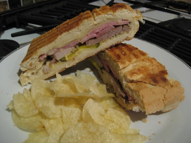 Cuban in the Midwest: What's for Lunch: Cuban Sandwich