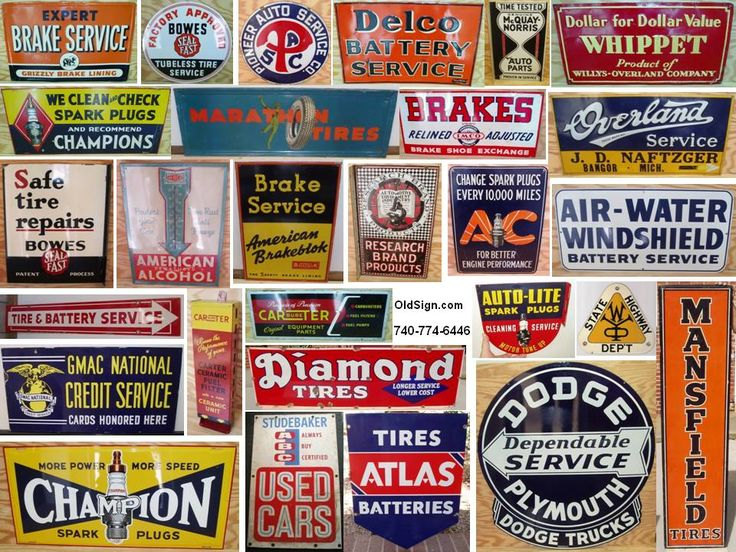 Mobil Gas Card >> Vintage Auto Signs - Hot Girls Wallpaper