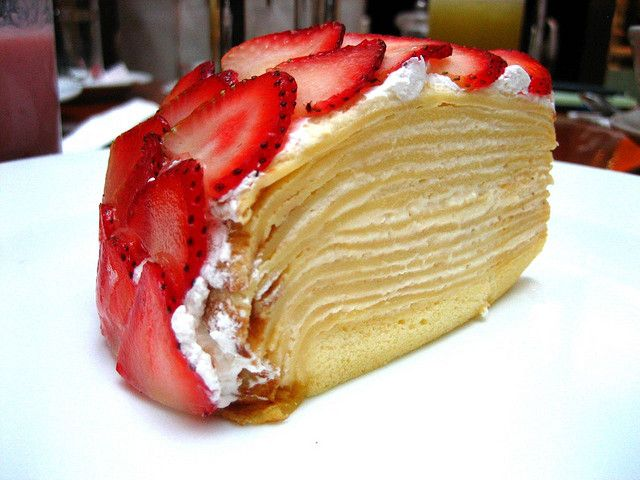 Crepe Cake | Wedding and Events | Pinterest