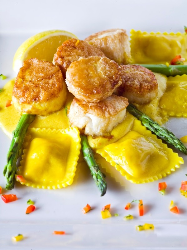 ... scallops with asparagus sauce grub scallops with asparagus recipes
