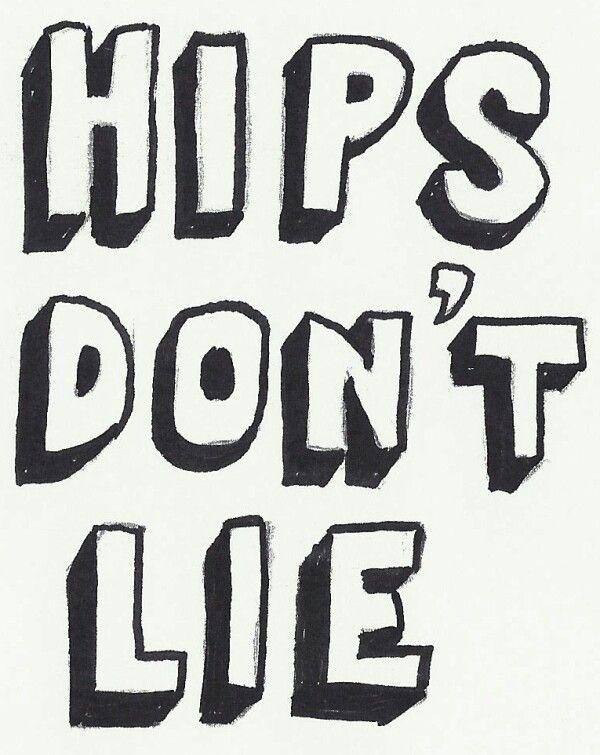 letras hips don t lie: