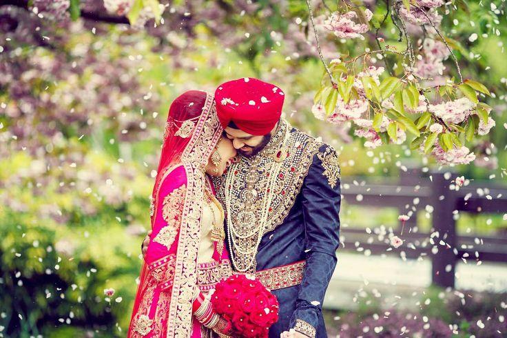 Bride groom sikh Princess wear Pinterest