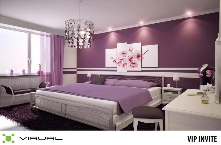 bedroom for Purple lovers https://virurl.com