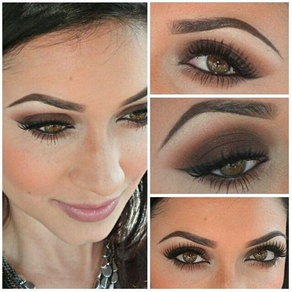 Brown smokey eyes - My wedding ideas Makeup Etc Pinterest