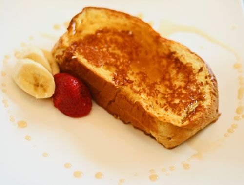 Banana-Stuffed French Toast | French Toast | Pinterest