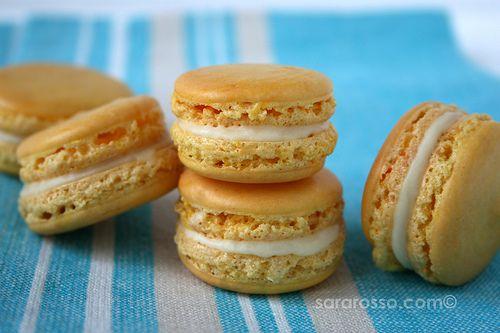 Lemon French Macarons with Limoncello White Chocolate Ganache ...