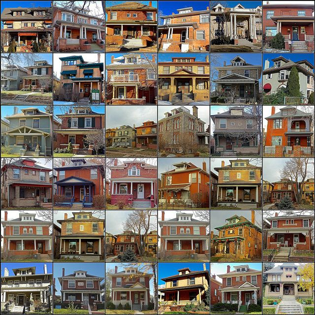 American foursquare just because i 39 m addicted pinterest for American building styles