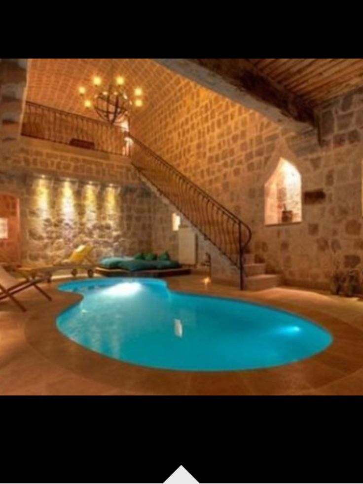 Million dollar pool indoor pools pinterest - Cool rooms with pools ...