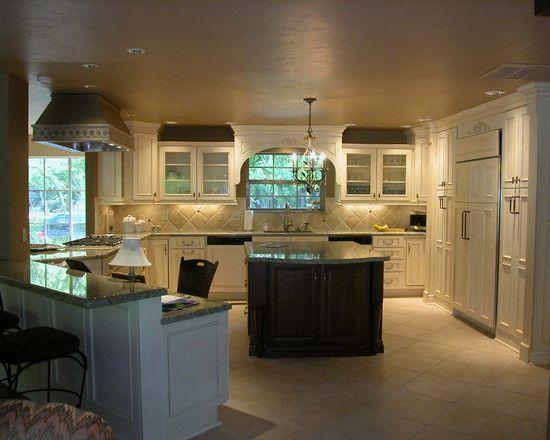 large tiles for backsplash kitchen pinterest