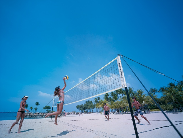 Beach volleyball fun Beach Volleyball Fun