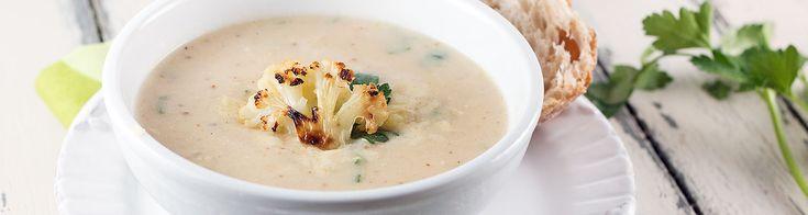Roasted Cauliflower & White Cheddar Soup | Soups, Stews, Chowders & C...