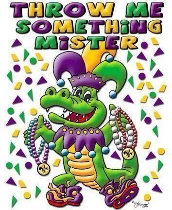 Throw me something Mister | Holidays: Mardi Gras | Pinterest