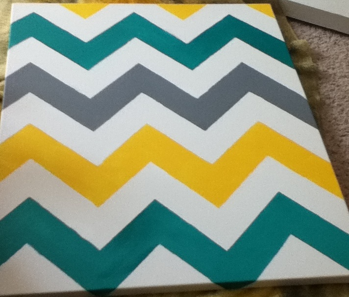 Pin by courtney stephan on ideas pinterest for Chevron template for painting
