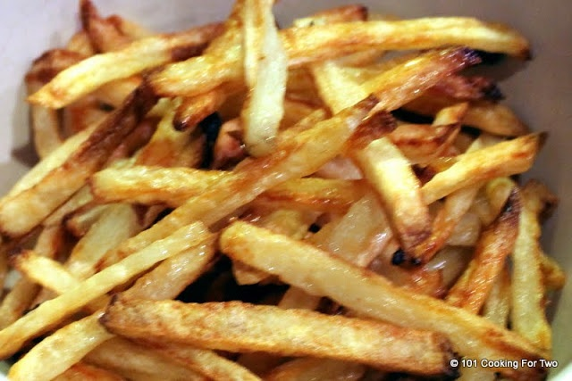 ... Two - Everyday Recipes for Two: Easiest Crispy Oven Baked French Fries