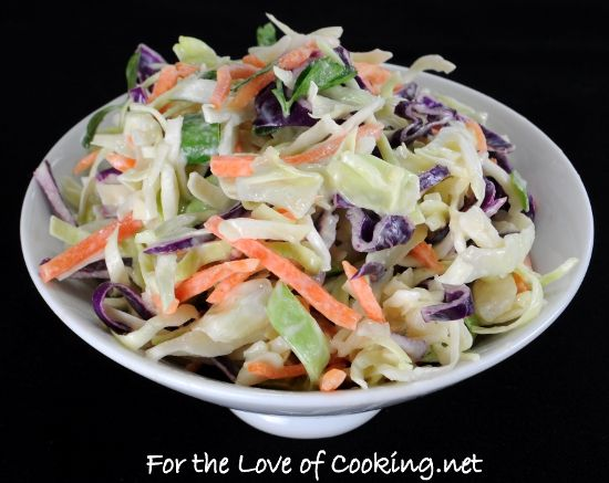 cole slaw recipe light and tangy coleslaw this light and tangy slaw is ...