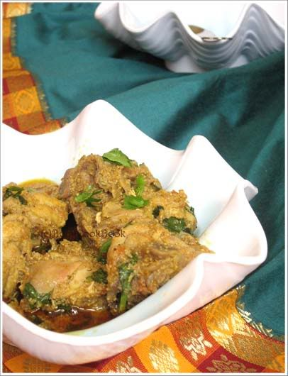 Posto Murgi or Chicken in Poppy Seed Paste