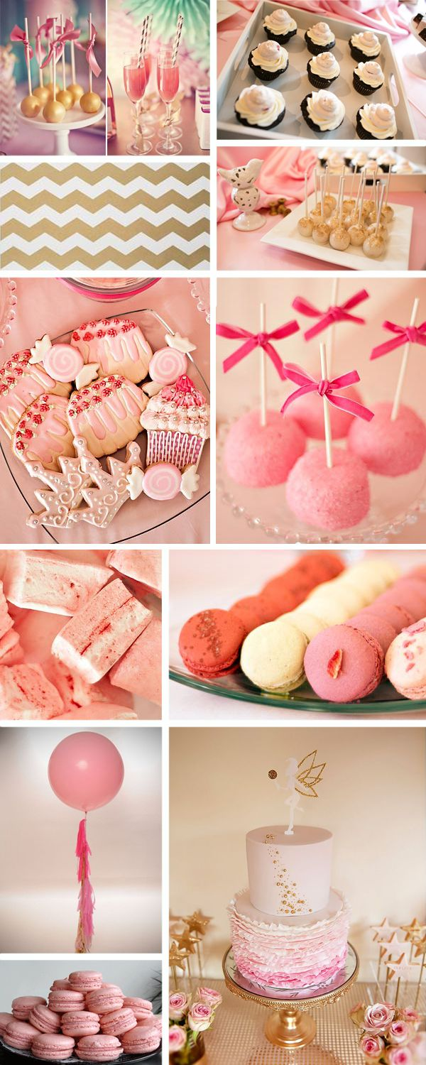 pink and gold baby shower amazing baby showers pinterest