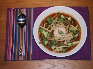 Spicy Tortilla Soup | Fresh From the Vegan Slow Cooker | Pinterest