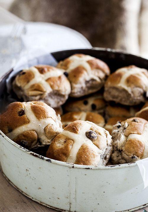 hot cross buns hot cross buns | Breads + Biscuits + Scones | Pinterest